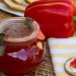 mermelada de pimientos thermomix rojos