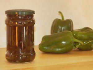 receta de mermelada de pimientos verdes casera